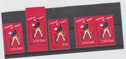 FRANCE 4 T Journée Du Timbre 1993 - 2792 - 2792a - 2793 - Paire2793A - Frankreich