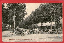 AMIENS - Boulevard Pont-Noyelle - 1912 - - Amiens