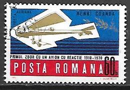 ROUMANIE    -   AVION   -    Oblitéré - Avions