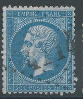 Lot N°45106  Variété/n°22, Oblit GC 4214 Villandraut, Gironde (32), Ind 6, Fond Ligné Vertical - 1862 Napoleon III