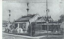 Cp , 13 , MARSEILLE , Exposition Coloniale , Pavillon De La Cochinchine - Expositions Coloniales 1906 - 1922