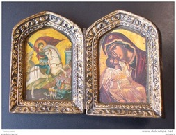M I ( 2 Scans ) St Michel - 8.4 Cm à 12 Cm - Religione & Esoterismo