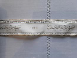 "Crabtree&Evelyn    "" Large Ruban 4 Cm    ""    Longueur  + 25 Cm !! - Modern (from 1961)"