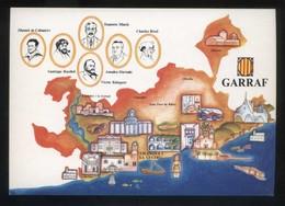 *Garraf* Congrés Cultura Catalana 1977. Campanya Identificació Del Territori. Nueva. - Mapas