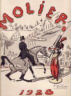 Programme Illustré De 1928   CIRQUE MOLIER   Illustré Par Pierre DUBAUT    8 Pages    31 X 24 Cm - Programmes