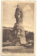 BELFORT - MONUMENT AUX MORTS - VEREZ  Scult.  LE MONNIER Arch. . Carte Ecrite Au Verso Le 25-6-1937 - Belfort - Città