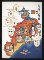 *El Baix Camp* Congrés Cultura Catalana 1977. Campanya Identificació Del Territori. Nueva. - Mapas