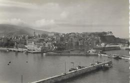 Photograph Postcard, Spain, 2. - Bermeo (vizcaya). Vista General. General View. Vue Generale. Harbour, Boats, Buildings. - Vizcaya (Bilbao)