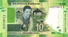 SOUTH AFRICA P. NEW  10 R 2018 UNC - Afrique Du Sud