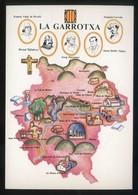 *La Garrotxa* Congrés Cultura Catalana 1977. Campanya Identificació Del Territori. Nueva. - Mapas