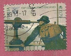 ITALIA REPUBBLICA USATO - 2013 - 150º Anniversario Della Fondazione Del Club Alpino Italiano - € 0,70 - S. 3401 - 2011-...: Usati