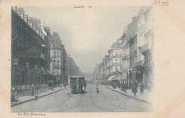 59 - LILLE - La Rue Nationale - Lille