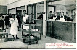 N°66588 -cpa Le Havre -la Maison Du Marin -l'office- Bld Amiral Mouches- - Commerce