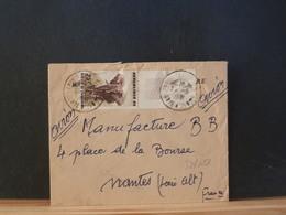 80/688 LETTRE  COTE D'IVIORE BORD DE FEUILLE - Ivory Coast (1960-...)