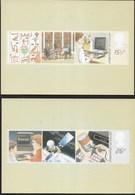 INGHILTERRA - INFORMATION TECHNOLOGY - 1982 - SERIE COMPLETA  2 CARTOLINE  - EDIT. HOUSE OF QUESTA - NUOVE - Francobolli (rappresentazioni)