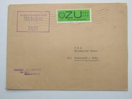 1966 , ZKD Wertmarke  , Brief Aus Berlin - DDR
