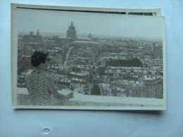 Unknown Inconnu Unbekannt City And Woman Where ? - Postkaarten