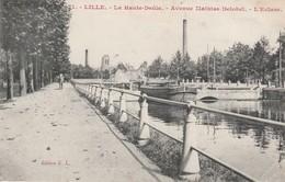 59 - LILLE - La Haute Deùle - Avenue Mathias Delobel - L' Ecluse - Lille