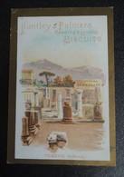 RARE  CHROMO  HUNTLEY-PALMERS.  HUT-19  Vues D'Italie. POMPEI   BASILICA - Vieux Papiers