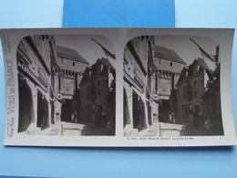 MONT-ST-MICHEL : La Porte Du Roi : S. 201 - 4223 ( Maison De La Bonne Presse VUES De FRANCE ) Stereo Photo - Stereoscopic