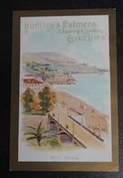 RARE  CHROMO  HUNTLEY-PALMERS.  HUT-19  Vues DEe La CÔTE D'AZUR.  NICE - Vieux Papiers