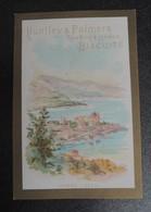 RARE  CHROMO  HUNTLEY-PALMERS.  HUT-19  Vues DEe La CÔTE D'AZUR.  MONTE CARLO.  MONACO - Vieux Papiers