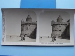MONT-ST-MICHEL : La Tour Du Moulin : S. 201 - 4231 ( Maison De La Bonne Presse VUES De FRANCE ) Stereo Photo ! - Stereoscopic