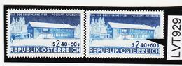 LTV929 ÖSTERREICH 1958 Michl 1058 PLATTENFEHLER STARKE AUFHELLUNG  ** Postfrisch - Abarten & Kuriositäten