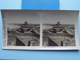 SAINT-MALO : Le Casino Vu Du Château : S. 203 - 4256 ( Maison De La Bonne Presse VUES De FRANCE ) Stereo Photo ! - Photos Stéréoscopiques