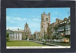 CAMBRIDGE   Kings Parade With Senate House And Great Mary's CAMBRIDGE CPM  1970 - Cambridge