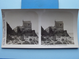 SAINT-MALO : Le Chapelle St. Aubert : S. 202 - 4243 ( Maison De La Bonne Presse VUES De FRANCE ) Stereo Photo ! - Stereoscopic