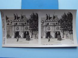 SAINT-MALO : La Porte St. Jean : S. 203 - 4247 ( Maison De La Bonne Presse VUES De FRANCE ) Stereo Photo ! - Stereoscopic