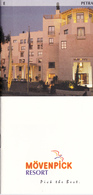 HOTEL MÔVENPICK RESORT - JORDANIE - Publicité