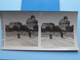 SAINT-MALO : Le Château : S. 204 - 4261 ( Maison De La Bonne Presse VUES De FRANCE ) Stereo Photo ! - Stereoscopic