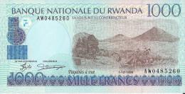 RWANDA - 1000 Francs 1998 UNC Pick 27 - Ruanda