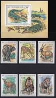 REPUBBLICA CENTROAFRICANA 1982 ANIMALI - Repubblica Centroafricana