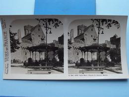 SAINT-MALO : Façade Du Château - Entrée: S. 204 - 4260 ( Maison De La Bonne Presse VUES De FRANCE ) Stereo Photo ! - Stereoscopic