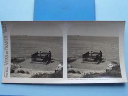 SAINT-MALO : Tombeau De Chateaubriand : S. 203 - 4252 ( Maison De La Bonne Presse VUES De FRANCE ) Stereo Photo ! - Stereoscopic