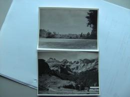 Unknown Inconnu Unbekannt Lot 2x Nice Photo S About 9 X 12 Cm - Postkaarten