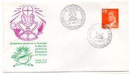 Carta Con Matasellos Commemorativo  XIV Asamblea Nuestra Señora Pilar Valencia 1977 - 1931-Hoy: 2ª República - ... Juan Carlos I