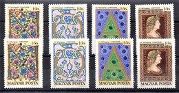 Dos Series De Hungría N ºYvert 2110/13 (**). VALOR DE CATÁLOGO 10.4€ - Hungary
