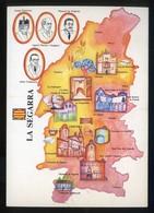 *La Segarra* Congrés Cultura Catalana 1977. Campanya Identificació Del Territori. Nueva. - Mapas