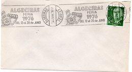 Carta Con Matasellos Commemorativo  Feria De Algeciras De 1976 - 1931-Hoy: 2ª República - ... Juan Carlos I