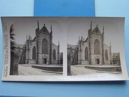 DINAN : Eglise St. Malo. Façade : S. 205 - 4272 ( Maison De La Bonne Presse VUES De FRANCE ) Stereo Photo ! - Stereoscopic