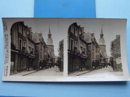 DINAN : La Tour De L'Horloge : S. 205 - 4277 ( Maison De La Bonne Presse VUES De FRANCE ) Stereo Photo ! - Stereoscopic