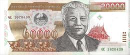 LAOS - 20 000 Kip 2003 - UNC Pick 36 - Laos