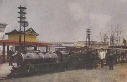 Transports - Chemins De Fer - Exposition Anvers 1930 - Gare Train Liliput - Trains