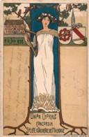 France - 68 - Art Nouveau - Femme - 11-12 Juin 1898 - Union Chorale Concordia Société D' Orchestre De Mulhouse - Mulhouse