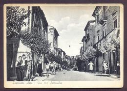 TORTORETO ALTO, Via XX Settembre - Viaggiata - Italia
