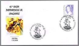 PAPPARDELLE AL CINGHIALE. Ostra, Ancona, 2009 - Alimentación